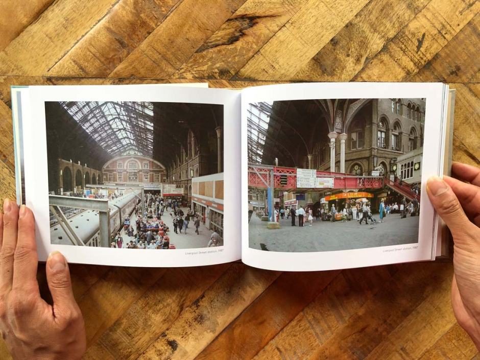 Photos of London Liverpool Street Station 1987