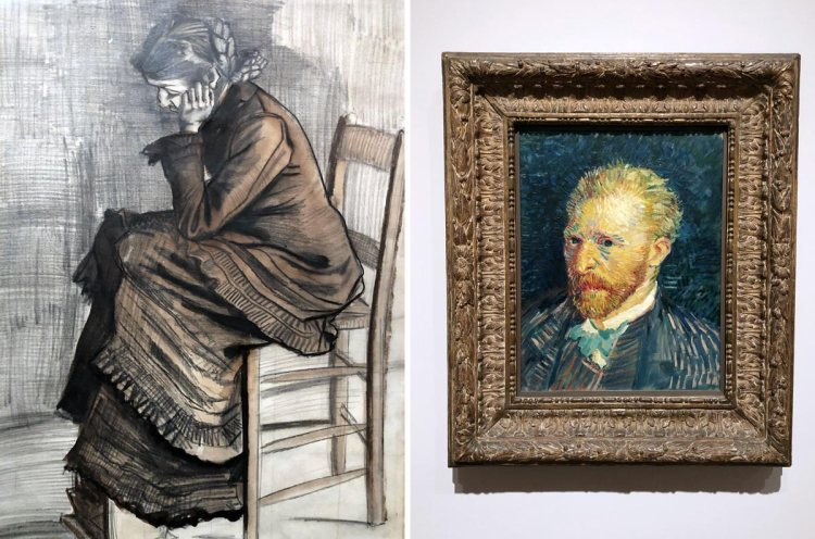 Two artworks by Van Gogh at Tate Britain