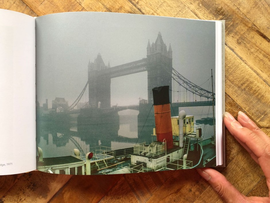 Fog around Tower Bridge photo from 1971