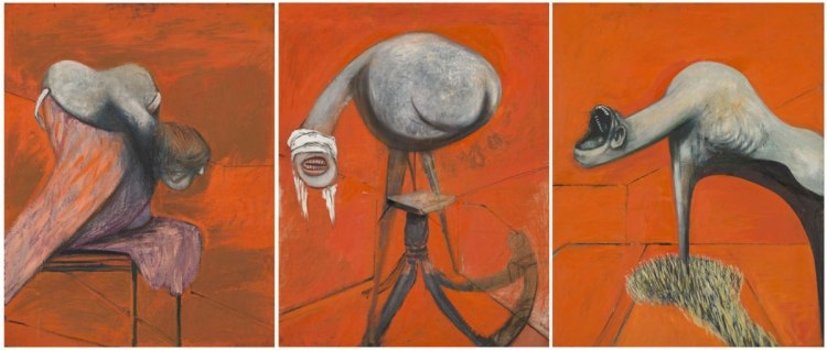 Crucifixion by Francis Bacon