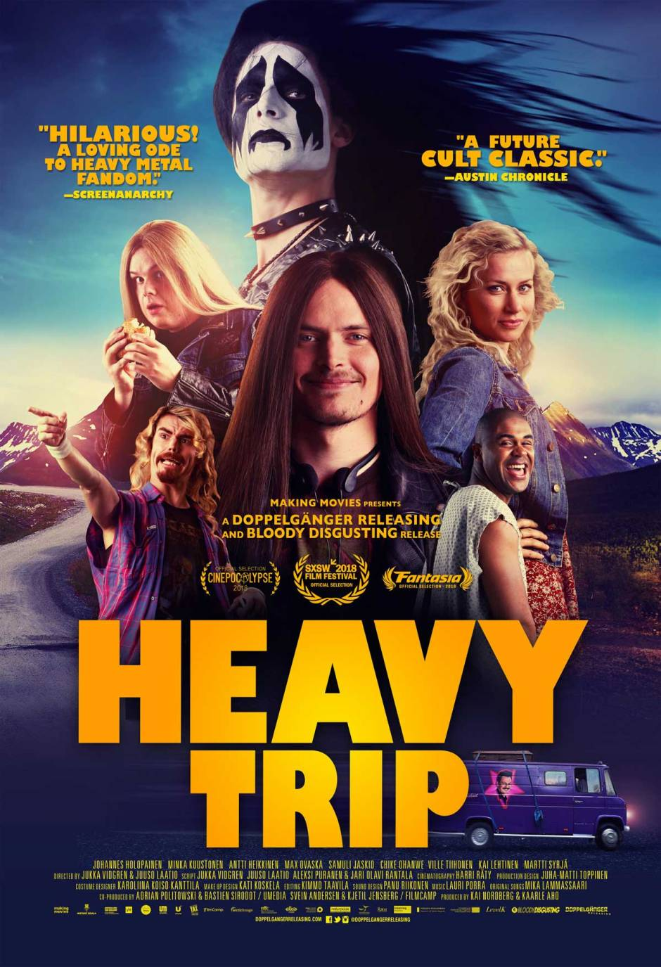 Heavy Trip film poster