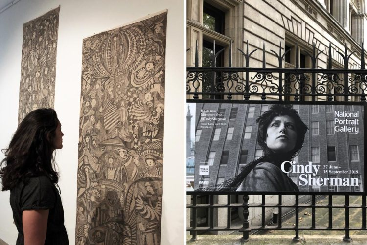 Madge Gill Cindy Sherman exhibitions London
