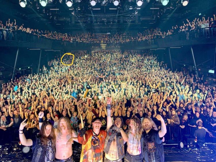 Machine Head live at 013 in Tilburg, October 2019