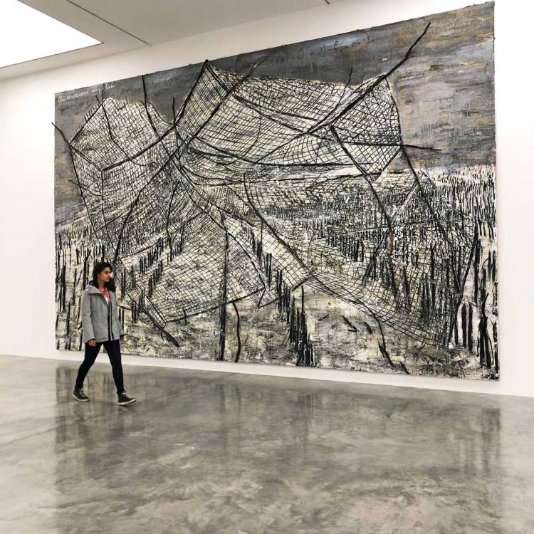 Free Anselm Kiefer exhibition at White Cube Bermondsey London 2019