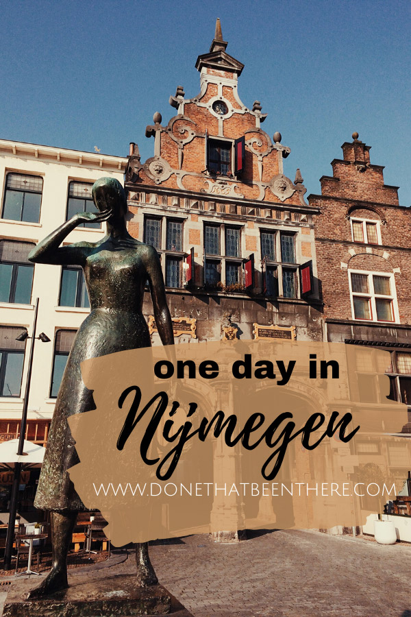 Link to my personal travel story about one day in nijmegen the netherlands