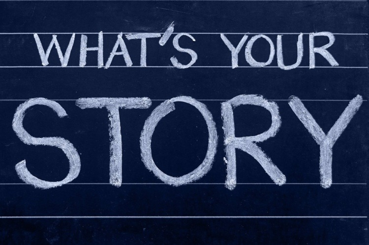 blogging is about stories