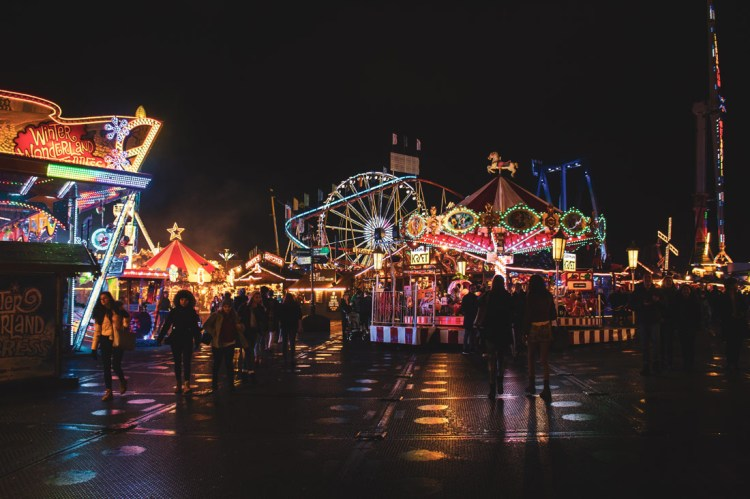 Hyde Park transforms into Winter Wonderland each Christmas
