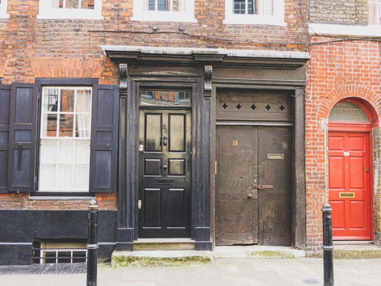Huguenot houses in Spitalfields
