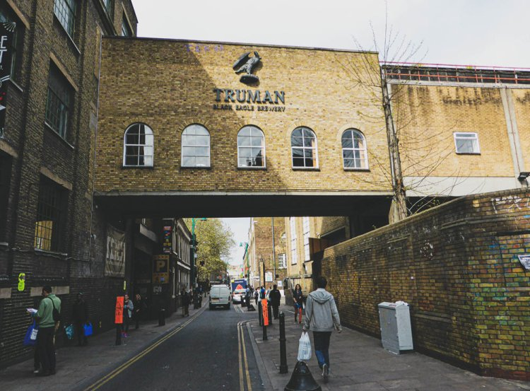 Truman Brewery on Brick Lane