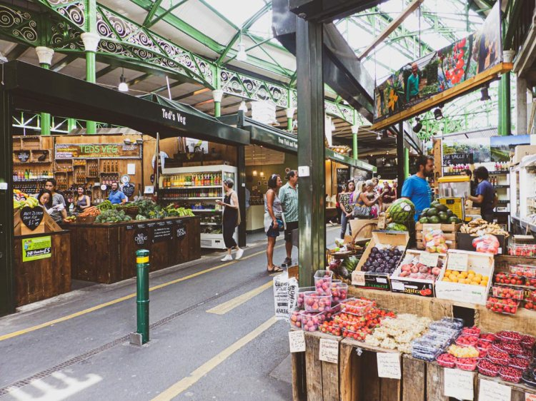 Borough Market is London's biggest food market