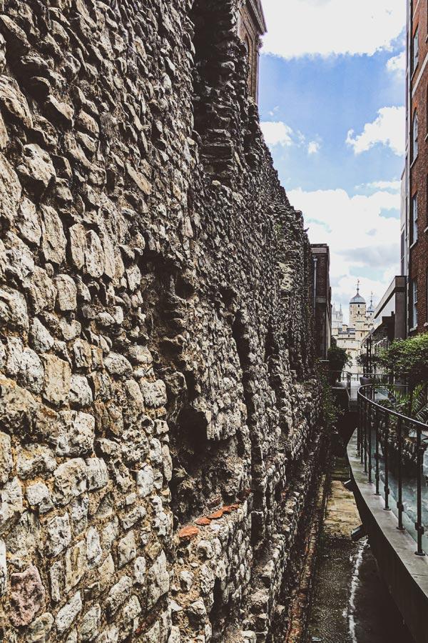 Roman Wall London