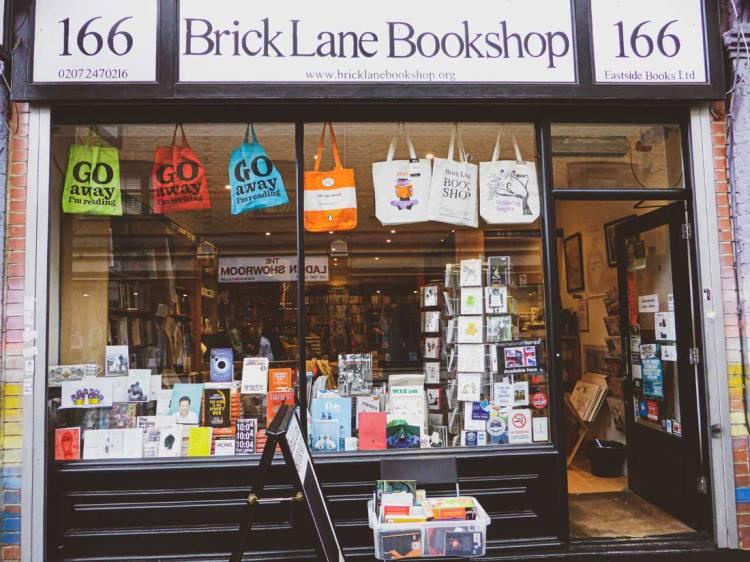 Exterior of Brick Lane Bookshop