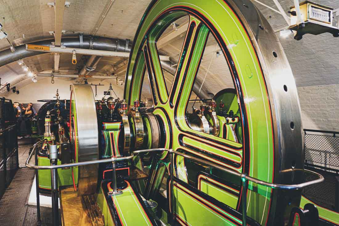 Inside the engine rooms of Tower Bridge, London