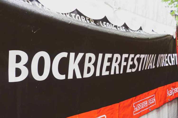 Banner Bockbierfestival Utrecht