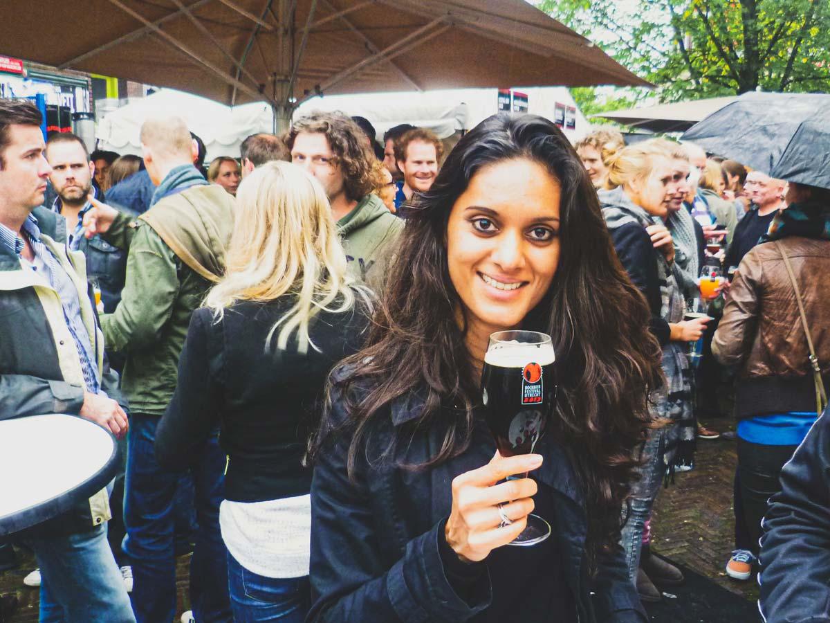 Zarina at Bockbierfestival Utrecht 2013