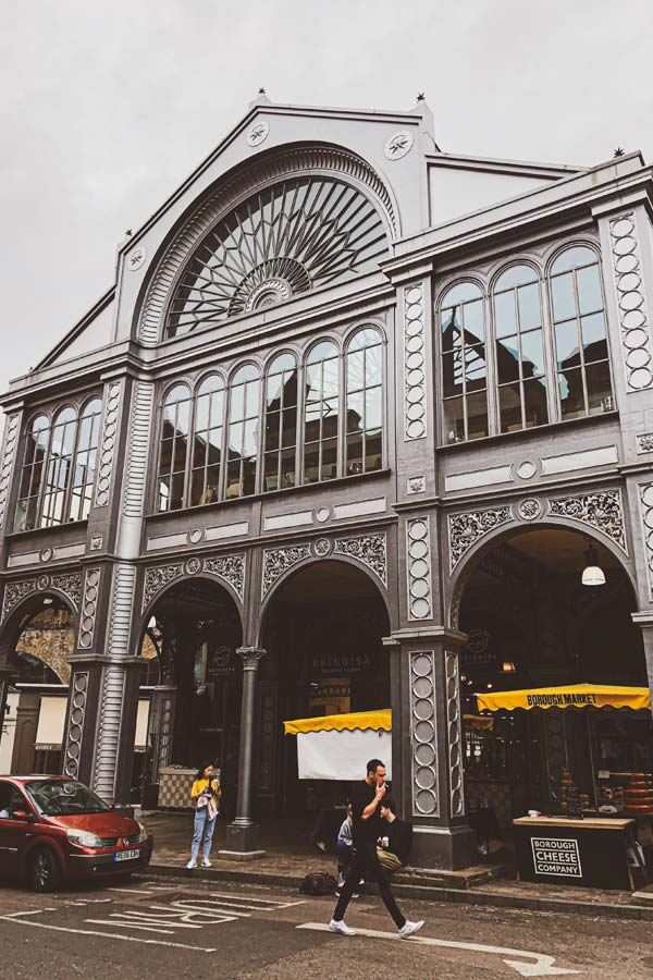 Floral Hall is the elegant facade of the Borough Market building