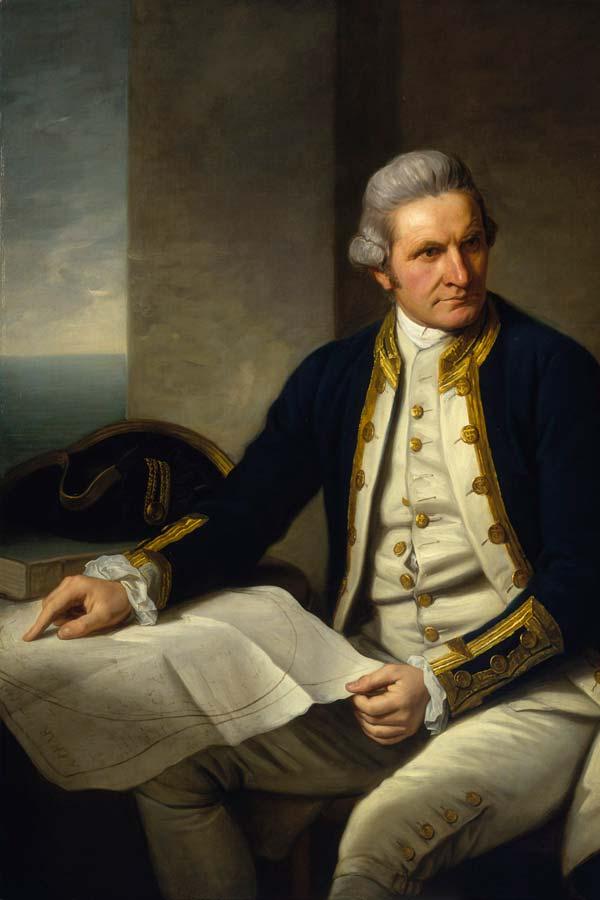 Portrait of Captain James Cook