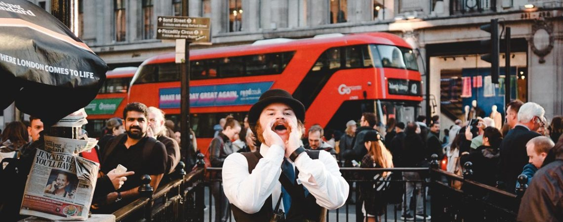 historical phrases and sayings about London