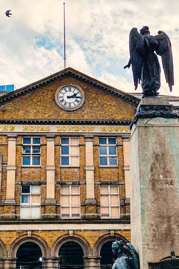 Royal London Hospital in Whitechapel, Whitechapel