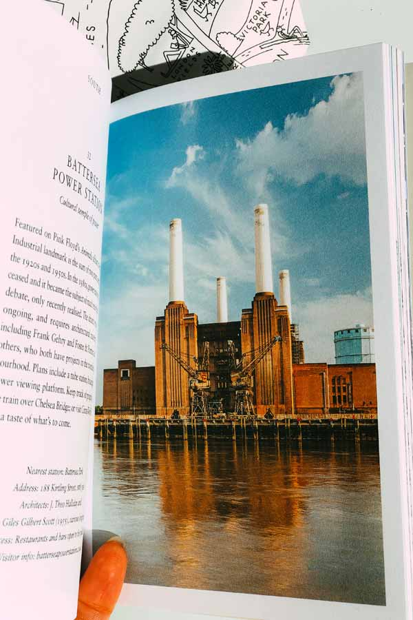 Photo of Battersea Power Station in the Mini Hoxton Press book on London architecture