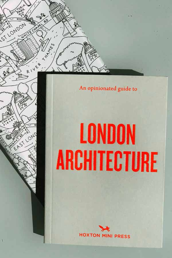Cover of the Mini Hoxton Press book on London architecture