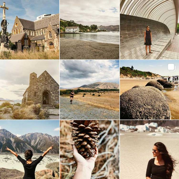 Screenshot of Miss Travel Clogs Instagram feed