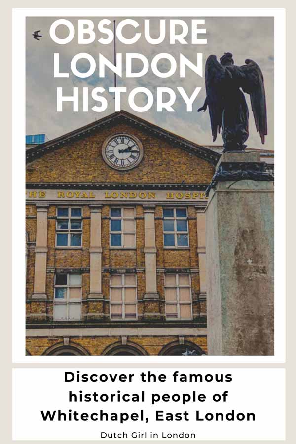 Secret London history of Whitechapel, London on Pinterest