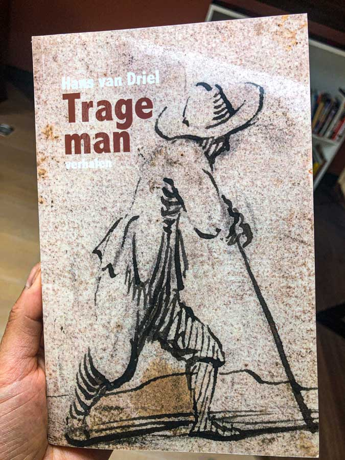 the book 'Trage Man' (Slow Man) by Hans van Driel