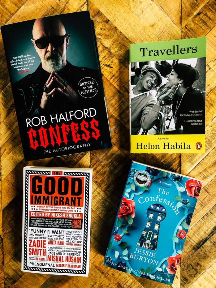 4 books I bought in September including Rob Halford's biography Confess