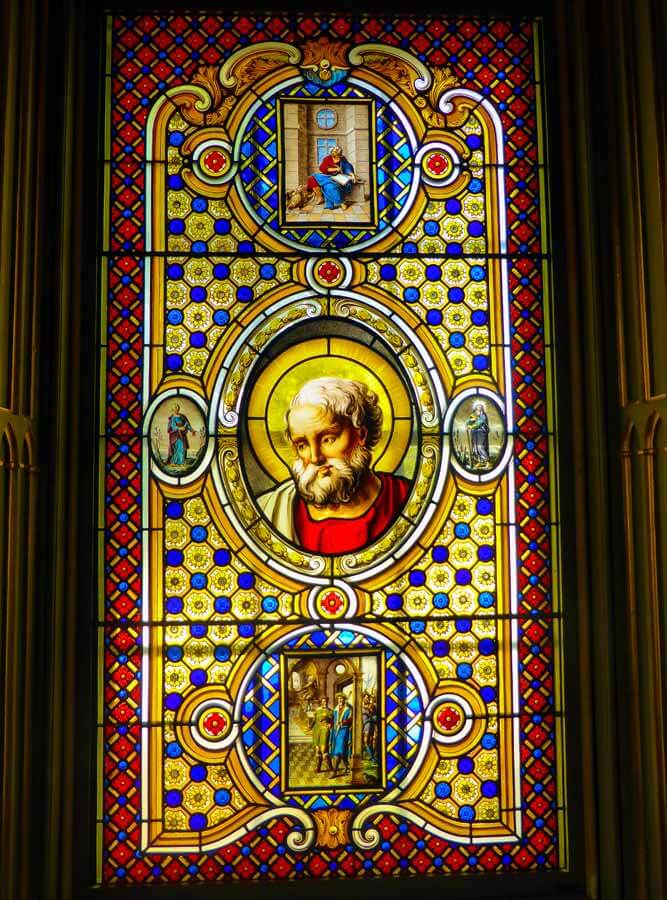 Stained-glass window panes